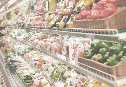 Shelf in the supermarket 2