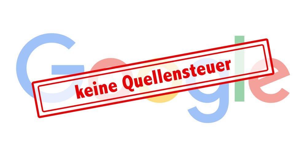Keine Quellensteuer bei Google-Onlinewerbung 7