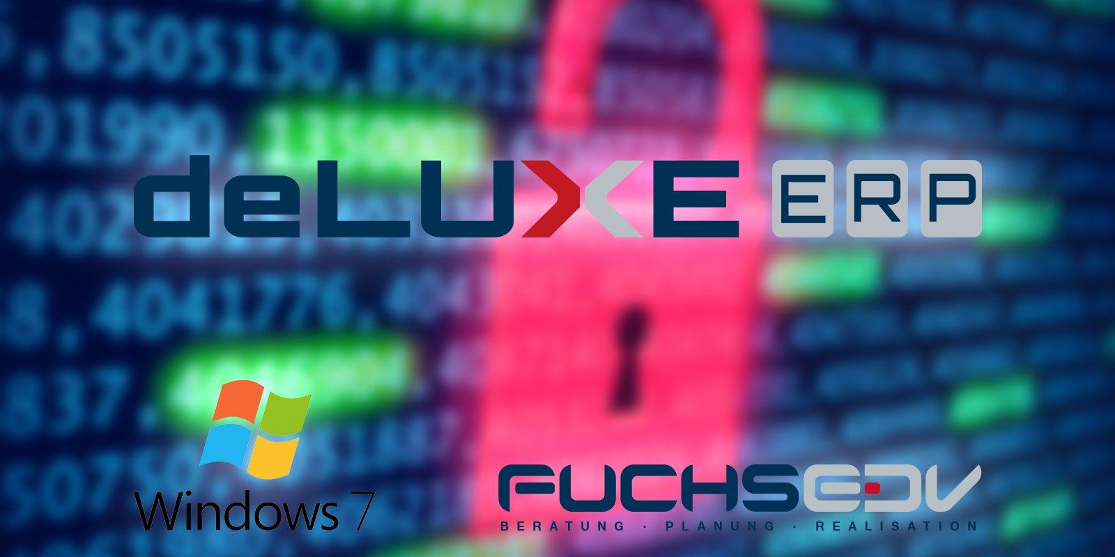 Sicherheitsrisiko beim Verwenden von deLUXE-ERP unter Windows 7 7