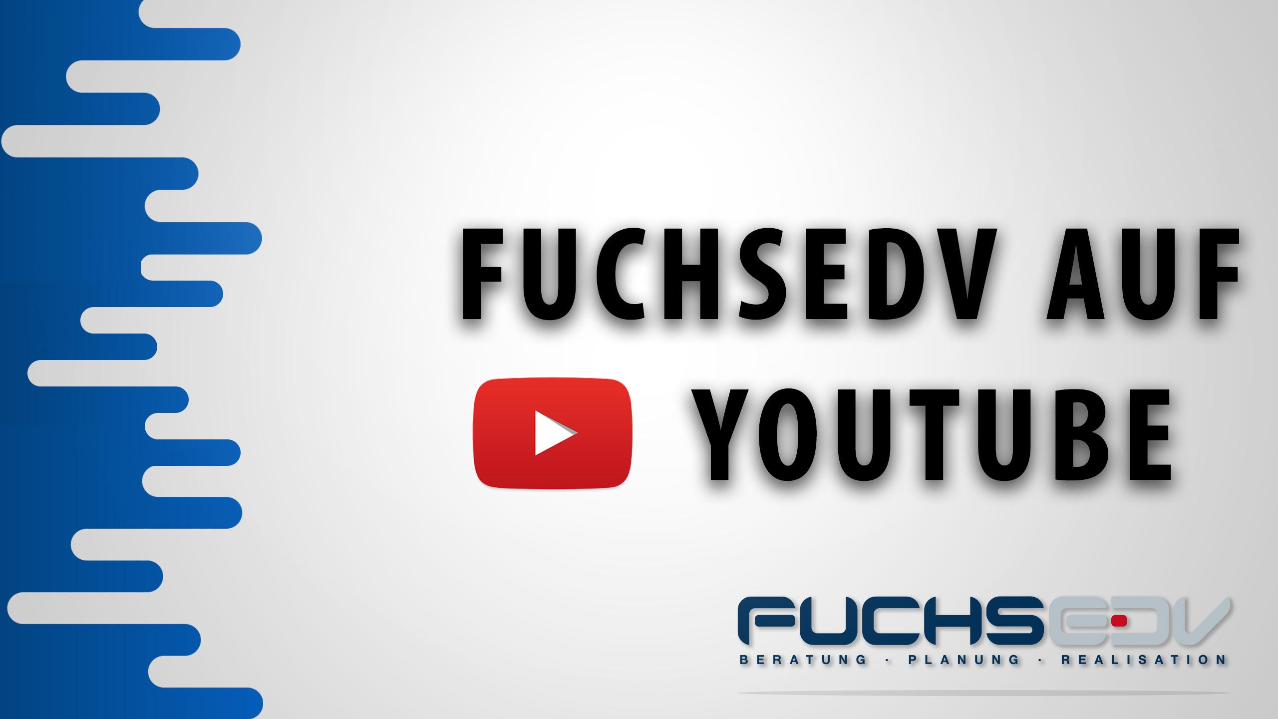 FUCHS EDV auf YouTube 4