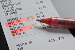 Basispaket Mehrwertsteueranpassung 1