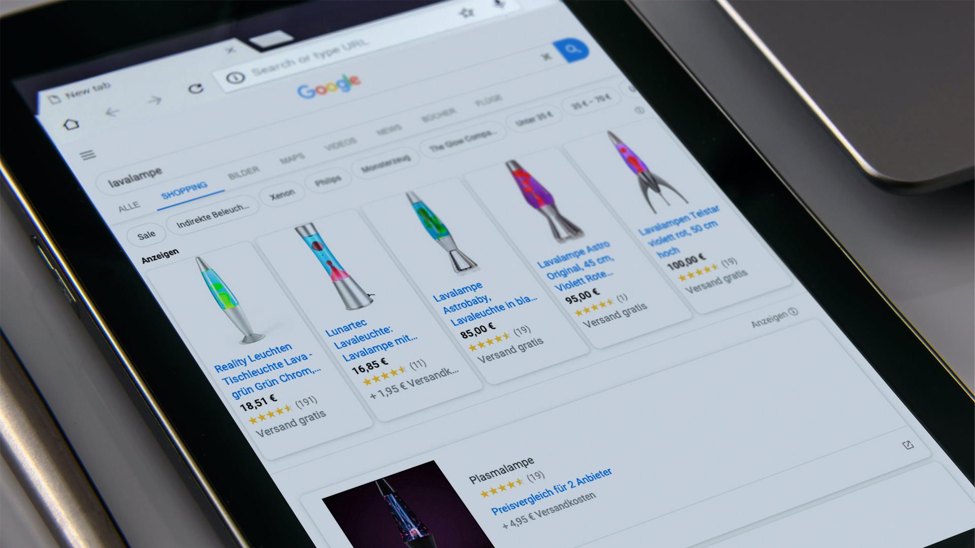 Google Shopping - bald kostenlos Angebote schalten? 3